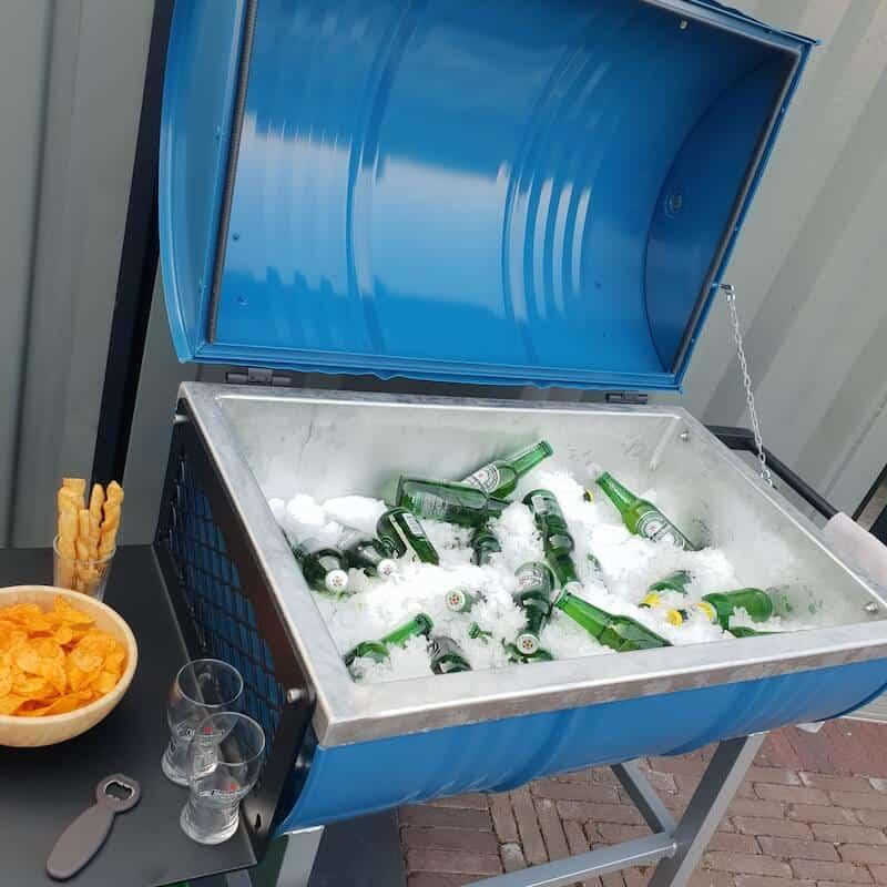 Ijsbar drankcooler freezer huren